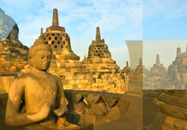 Borobudur - Ullen Sentalu - Lava Tour