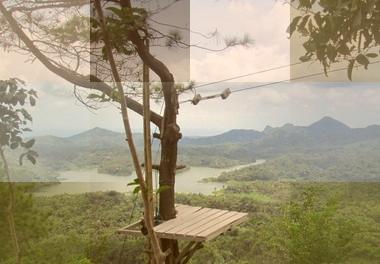 Wisata Alam Kalibiru - Waduk Sermo - Pantai Glagah