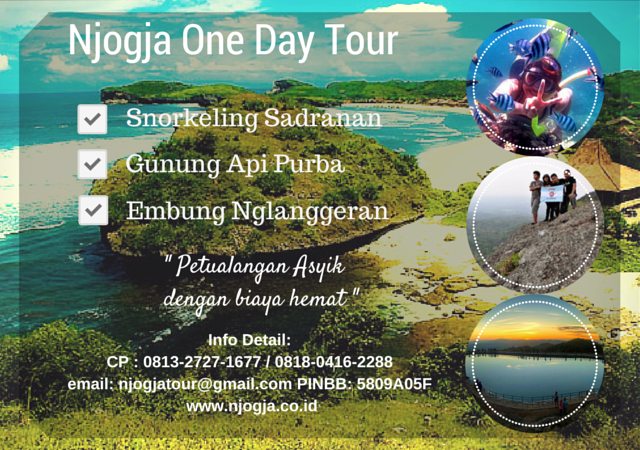 Njogja One Day Tour