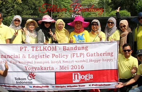 Njogja Telkom Bandung liburan bersama Njogja Tour