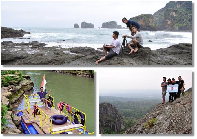 Paket wisata Ngobarran - air terjun Sri gethuk
